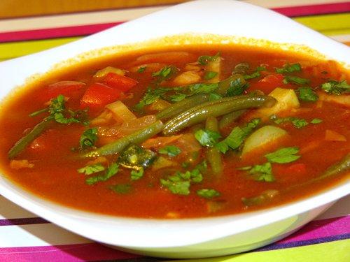 Суп из фасоли стручковой рецепт