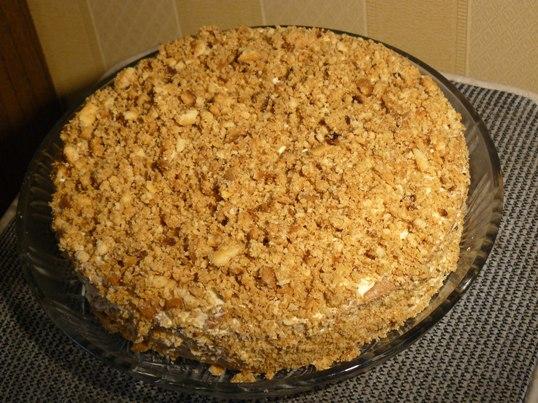 Торт пчелка рецепт с фото пошагово в домашних условиях 663